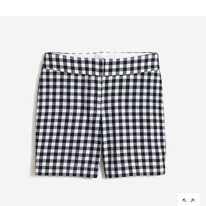 J Crew gingham Chino shorts